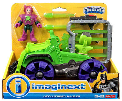 Imaginext Lex Luthor Hauler with Figure DC Super Friends NEW Fisher Price NEW