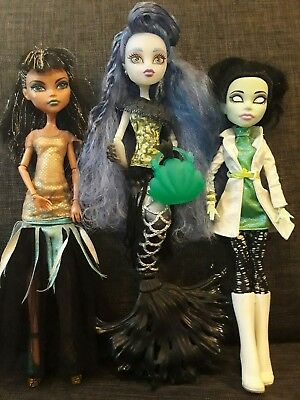monster high - , scarah screams Cleopatra SIRENA VON BOO
