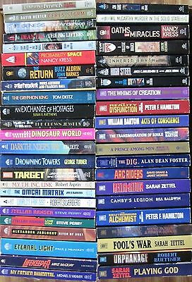 Vintage Mixed Lot of 45 Science Fiction Various Authors Paperbacks (Box #144)