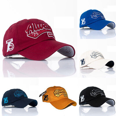 Adjustable Letter Embroidery Baseball Cap Snapback Hat Hip-Hop Casual Unisex 1PC
