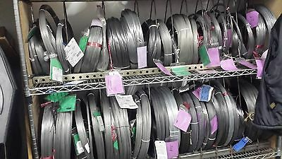 "25 FEET STAINLESS STEEL SPRING WIRE SIZE .032"" - .81mm - Very High Quality"