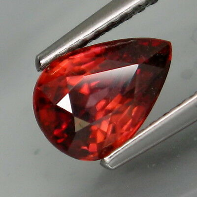 2.10Ct.Very Good Color! Natural Rich Pink Zircon Tanzania Full Fire&Eye Clean!