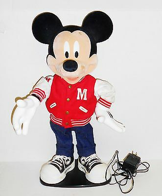 Vintage Dancing Mickey Mouse with Varsity Jacket