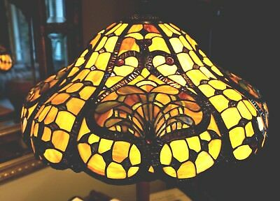 Tiffany Style Lead light  Shade Floor Lamp