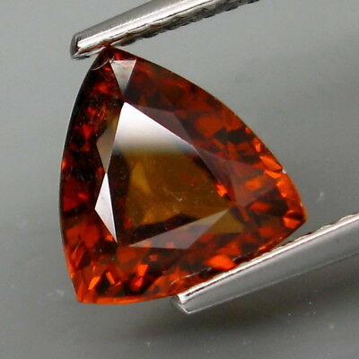 3.38Ct.Very Good Color&Full Sparkling! Natural Imperial Zircon Tanzania