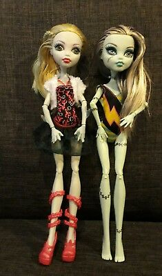 MONSTER HIGH - Frankie & lagoona blue