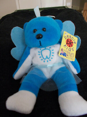 Pixie the Toothfairy the Bear - Retired 2000