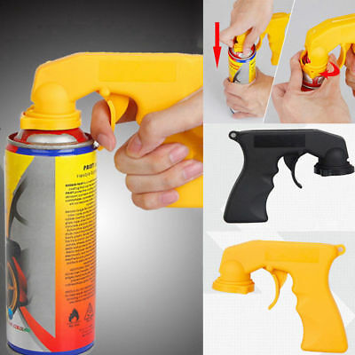 Car Auto Spray Painting Can Gun Plastic Handle With Full Grip Trigger 11*14cm