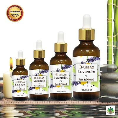 LAVANDIN OIL(Lavandula) 100% NATURAL PURE ESSENTIAL OILS 15ML TO 1000ML