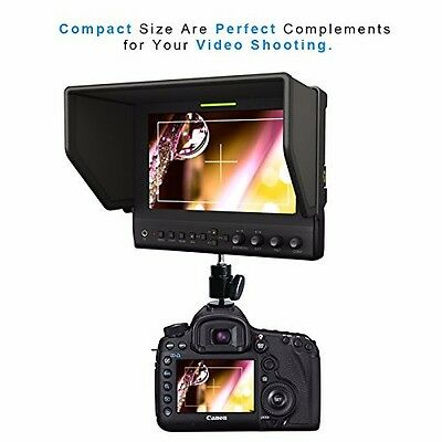 LILLIPUT MONITOR latest 7in 663/S2 IPS 3G-SDI HDMI In Out HD EPIC SCARLET BMCC