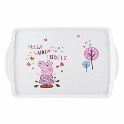 Peppa Pig Melamine Wipe Clean Meal or Play Tray (Portmerion)