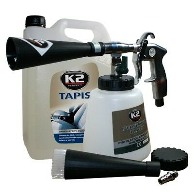Perfector Black Compressed Air Cleaning Gun + Stain Remover Upholstery Cleaner