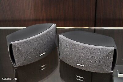 Bose 3-2-1 Speakers. Can be used with Bose 3-2-1 or Cinemate systems. Powerful..