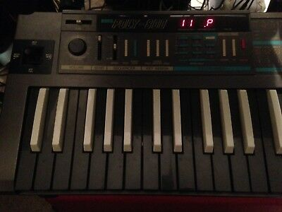 Korg Poly 800 reverse key edition, power supply. Patch codes & manual on CD