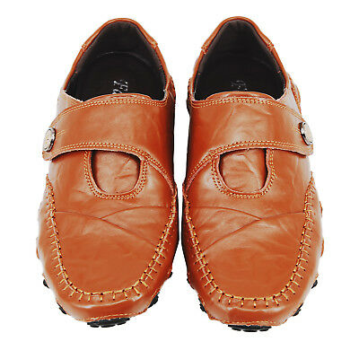 Men's Casual Genuine Leather Slip On Walking Moccasin Loafers Driving Shoes