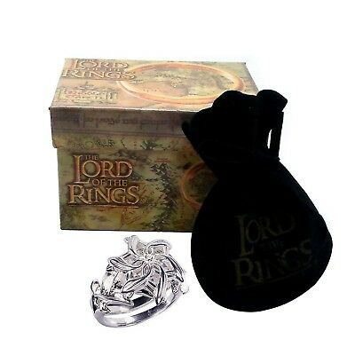 Signore Rings Ring GALADRIEL NENYA Ring OFFICIAL The Hobbit LOTR Lord Rings