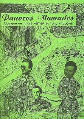 Partition accordéon - A Astier & T Fallone - Pauvres nomades