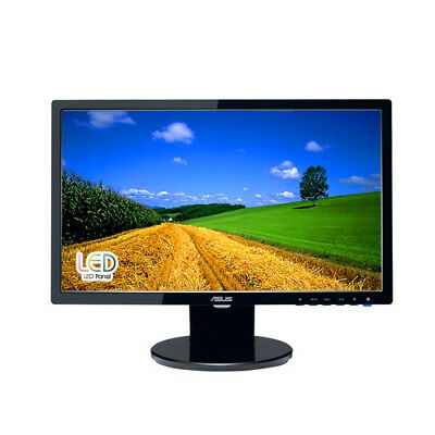 ASUS VE208T 20-inch Full HD Black Computer Monitor LED Display