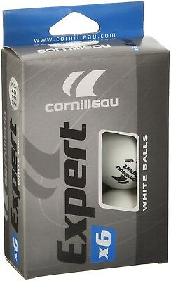 Cornilleau Expert Balls (Pack of 6) - White, One Size