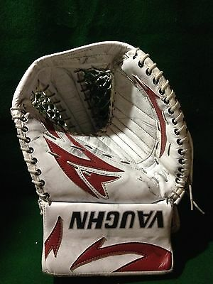 Hockey NHL Vaughn Goalie Practice Catch Glove ILYA BRYZGALOV Game Worn Coyotes