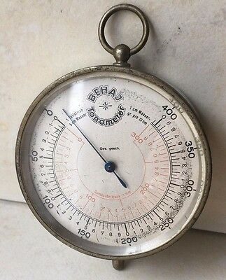 Vintage Collectible German Military BEHAJ Tanometer Device Marked Ges. gesch.