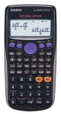 CASIO CALCOLATRICE SCIENTIFICA FX 350ES PLUS - 252 Funzioni