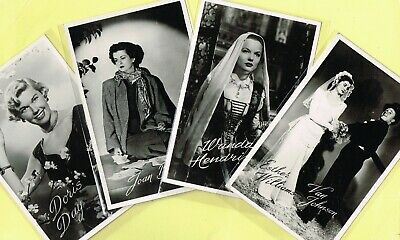 TAKKEN - 1950s Film Star Postcards issued in Holland #AX231 to #AX329