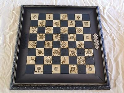 Eaglemoss Lord of The Rings Chess Board (Never used) Note: No Chess Pieces