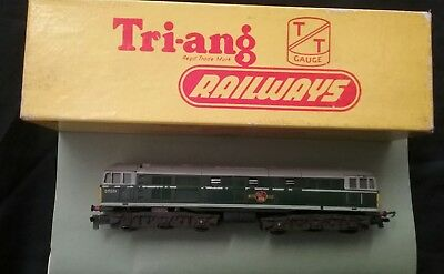 Triang Tt Gauge Locomotive T96 Diesel Electric Loco Green Livery.. Tested