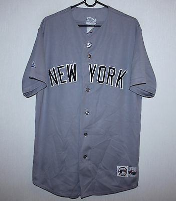 New York baseball shirt jersey Majestic