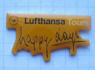 LUFTHANSA / TOURS / HAPPY DAYS   ..............Airline-Pin (127f)