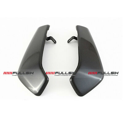 Fullsix Ducati Monster 821 1200 Carbon Fibre Radiator Panels