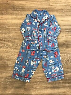 Early Days boys multi cotton pyjama set Age 12-18 months