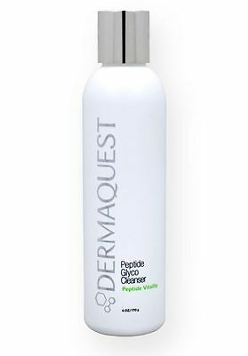 Dermaquest Peptide Glyco Cleanser 6oz -  Exfoliating peptide Vitality & Glow
