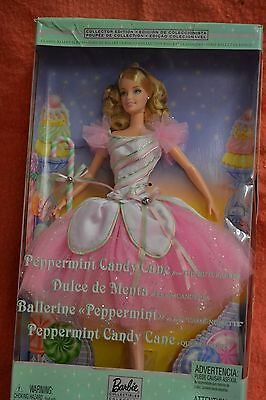 Poupee Peppermint Candy Cane Nutcracker Barbie Doll Classic Ballet Series 57578