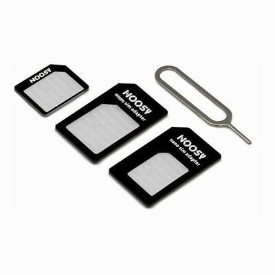4 in 1 HANDY TABLET NANO MICRO SIM KARTEN ADAPTER SET SMARTPHONE UNIVERSAL - Z7