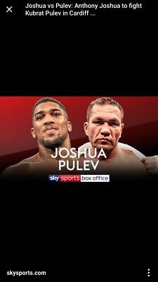 Anthony Joshua, Cardiff hotel stay x2 nights 27-28th October - Austins Guesthous