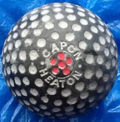NICE,  CAPON HEATON   GOLF BALL c1913