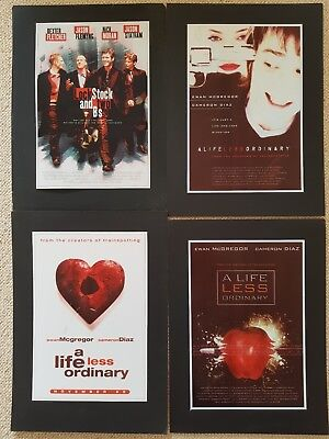 A Life Less Ordinary & Lock Stock posters limited publicity artwork Polygram