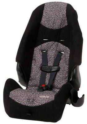 Cosco 2-in-1 Speckle Latch Equipped Highback Booster 5 Point Harness Car Seat