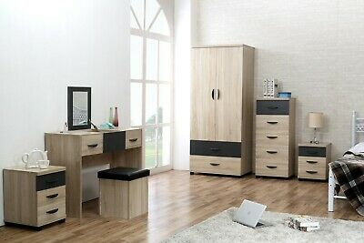 REFLECT HIGH GLOSS White / White 4 Piece Bedroom Furniture ...