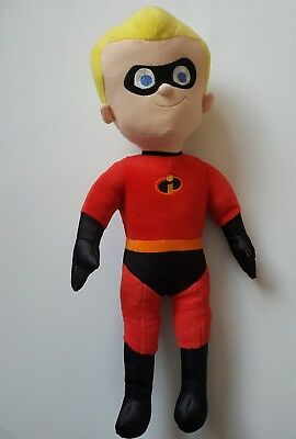 """Disney Store Exclusive Incredibles Talking Dash Soft Plush Toy Approx 18"""""""