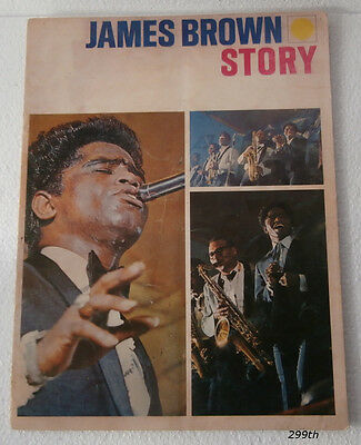 """1964 JAMES BROWN STORY """"King of Soul"""""""