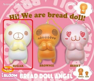 License Rare Ibloom Bread Doll Angel Sugar Jumbo Size Squishy Scented