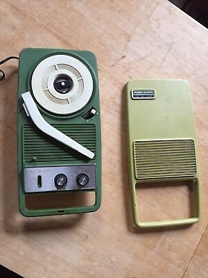 70er GE Koffer Plattenspieler Radio Phono Record Player General Electric Vintage
