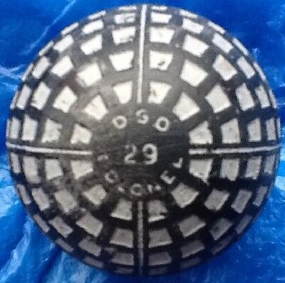 SUPERB, D.S.O SIX POLE COLONEL TRAPEZIUM  GOLF BALL c1916