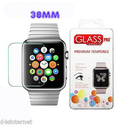 Genuine Tempered Glass Screen Protector Film For Apple Watch 38Mm