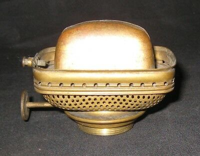 Kerosene Oil #2 Bridgeport Brass Co. No. 2 Leader Rectangular Dated Lamp Burner