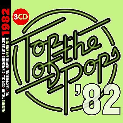 TOP OF THE POPS 1982 3-CD SET - VARIOUS ARTISTS (Released October 13th 2017)