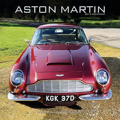 Aston Martin Official 2018 Square Wall Calendar